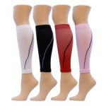 Solid Compression Leg Sleeves 1 Pair (4 Colors)