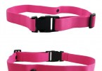 RACE NUMBER BELT ELASTIC TRIATHLON TRAINING MARATHON RUNNING WAIST PINK WOMEN !!