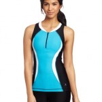 Danskin Women's Triathlon Color Block Race And Training Tank