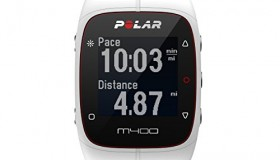 Polar M400 GPS Sports Watch without Heart Rate Monitor, White